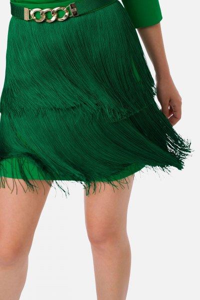 Vestido ELISABETTA FRANCHI Camisero Flecos AB23601E2