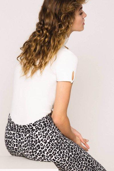 Pantalón TWINSET Pitillo Con Animal Print 201MP2452