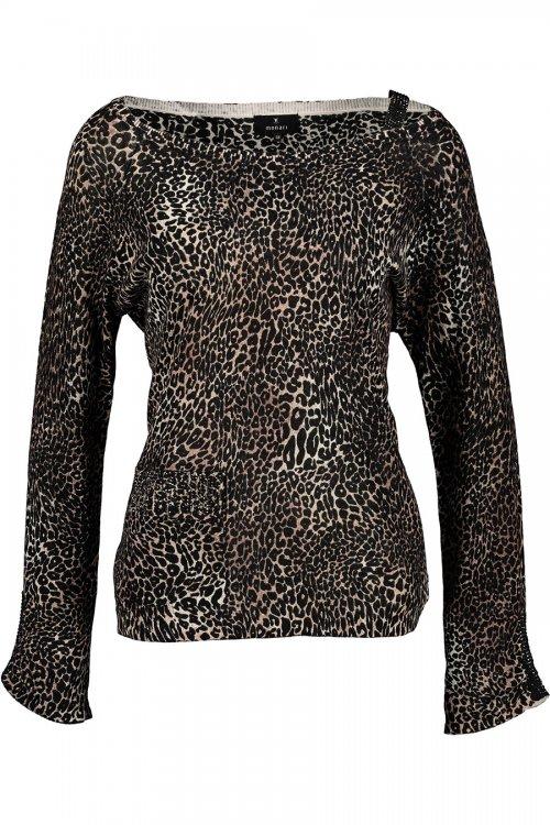 Jersey MONARI Estampado Leopardo 405232