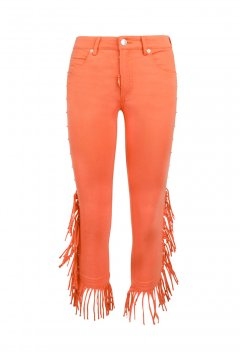 Pantalón HIGHLY PREPPY Flecos Naranja 1399