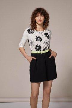Vestido LOLITAS Combinado Con Estampado 20S206