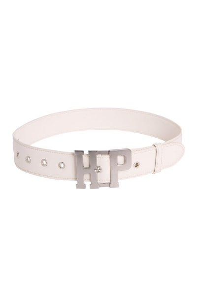 Cinturón HIGHLY PREPPY Piel Hebilla HP Crudo C457