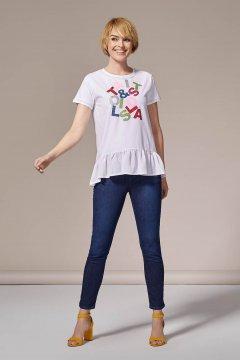 Camiseta LOLITAS Con Estampado De Purpurina 20S275