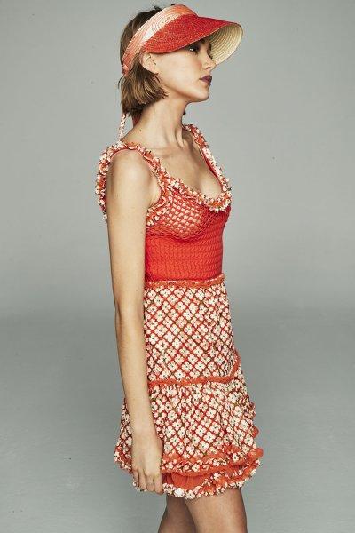 Vestido HIGHLY REPPY Crochet y Encaje Print 7751
