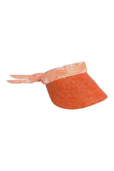 Visera HIGHLY PREPPY Rafia Naranja C475