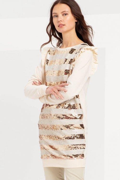 Vestido FRACOMINA Combinado FR20SP929