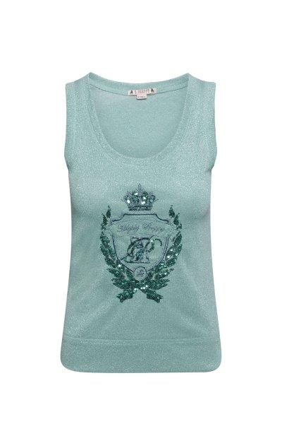 Camiseta HIGHLY PREPPY Lurex Verde 9727