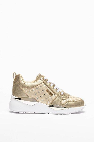 Sneaker GUESS Gold Brillantes FL5TALLEL12