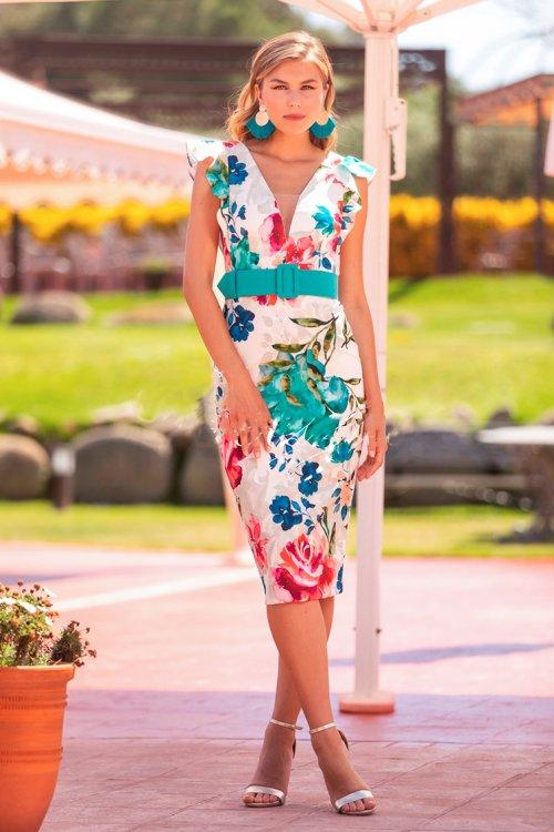 Vestido BETZZIA Corto Estampado V20433