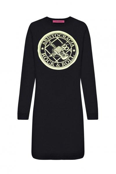 Vestido LA CONDESA Aristocracia Negro