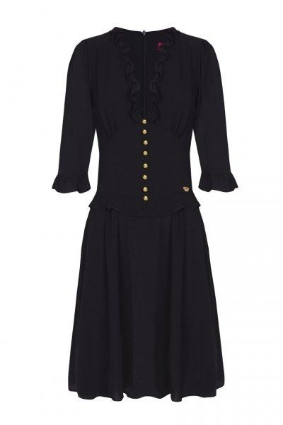 Vestido LA CONDESA Meriendita Negro