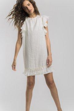 Vestido ALBA CONDE Lino Crudo 1417-109-22