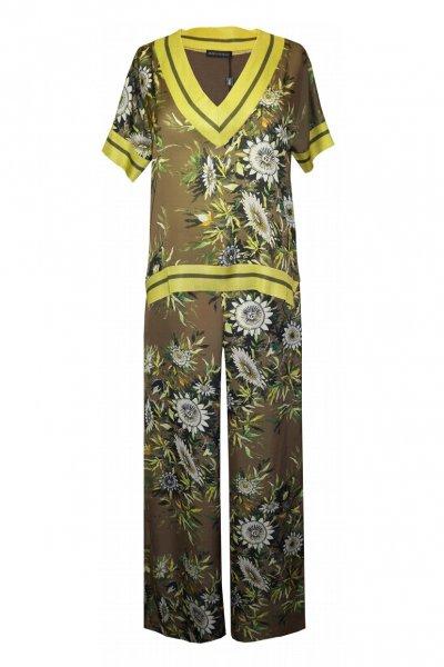 Conjunto ARGGIDO Pantalón y Blusa Estampado 43519