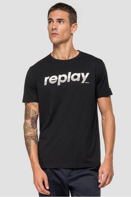 Camiseta REPLAY Logo Estampado M3005 2660