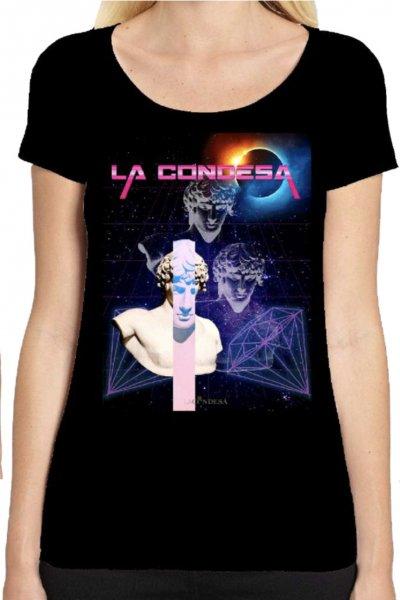 Camiseta LA CONDESA Techno Negro