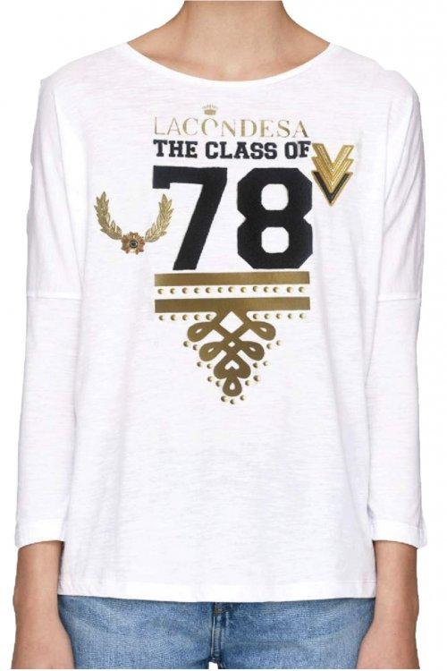 Camiseta LA CONDESA The Class Of 78