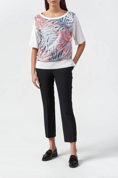 Camiseta TWINSET Bordado De Lentejuelas 201MT3120