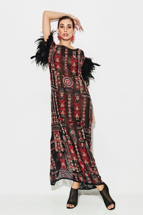 Vestido TETE BY ODETTE Feather Red