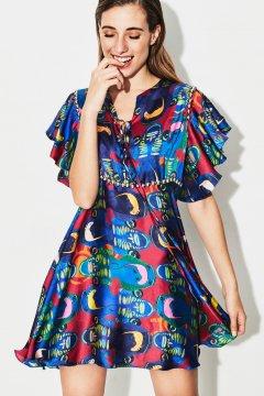 Vestido TETE BY ODETTE African Short