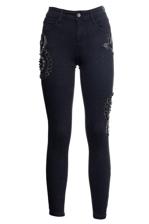 Jeans FRACOMINA Negro Mandala FR20SMC122