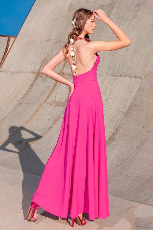 Vestido MONCHO PETIT Largo Tira Flores 5008.3