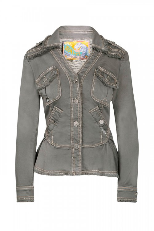 Chaqueta HIGHLY PREPPY Elástica Gris 2316