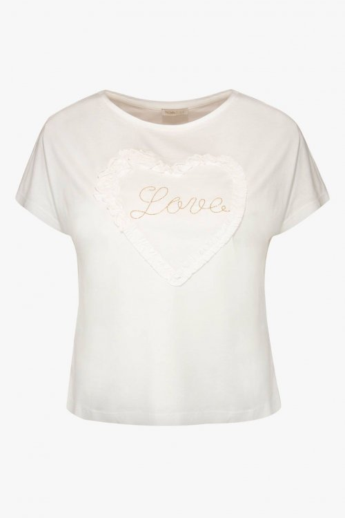 Camiseta FRACOMINA Corazón 3D FR20SP342