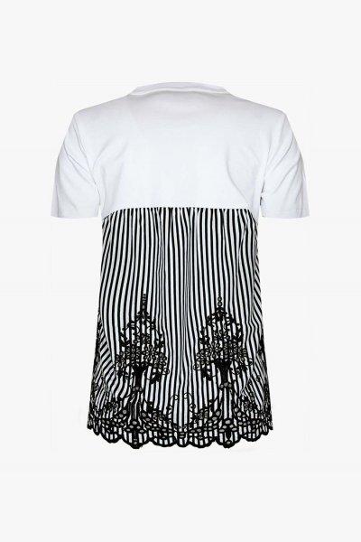 Camiseta FRACOMINA Combinada Strass FR20SP318