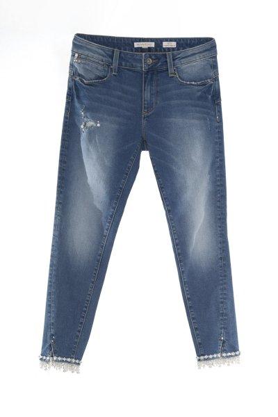 Jeans FRACOMINA Capri Perlas Y Strass FR20SPJBETTY5