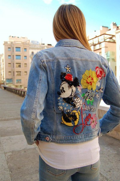Chaqueta FRACOMINA Vaquera Disney Minnie FR20SFJ170