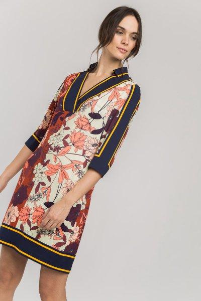 Vestido ALBA CONDE Corto Floral 2442-443-37