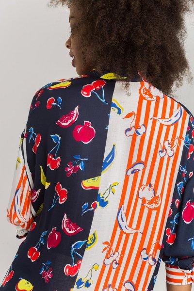 Camisa ALBA CONDE Estampada Fluida 2314-444-30