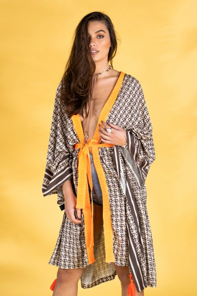 Kaftan GUTS & LOVE Monogram A-20-6-002