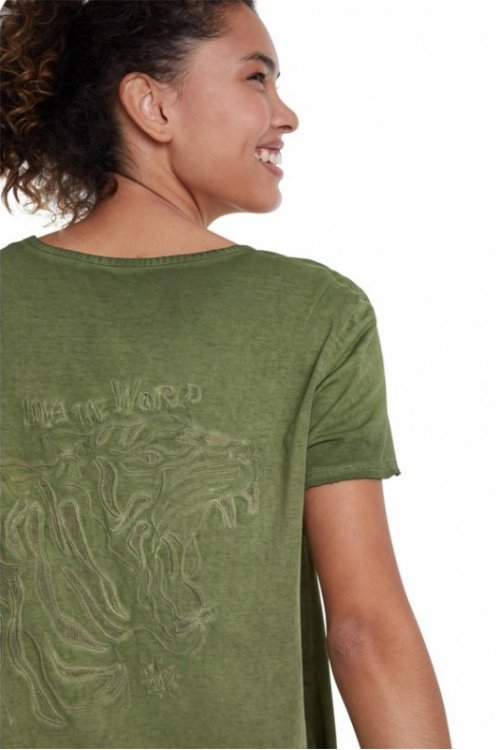 Camiseta DESIGUAL África  20SWTKD0
