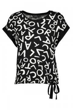 Camiseta MONARI Estampado Letras 405202