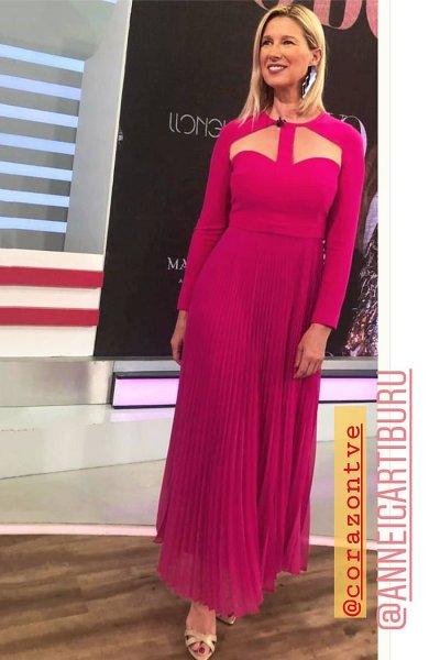 Vestido CARLA RUIZ Midi Plisado 96513