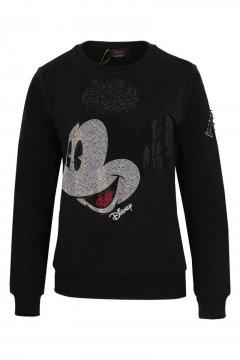 Sudadera FRACOMINA Disney Mickey Negra FR20SF911