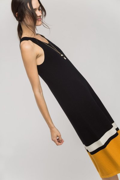 Vestido ALBA CONDE Punto Midi 2844-588-20