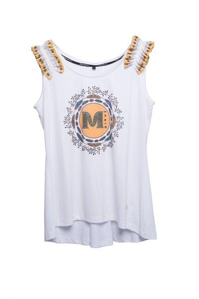 Camiseta MASAVI Logo Blanca 2057