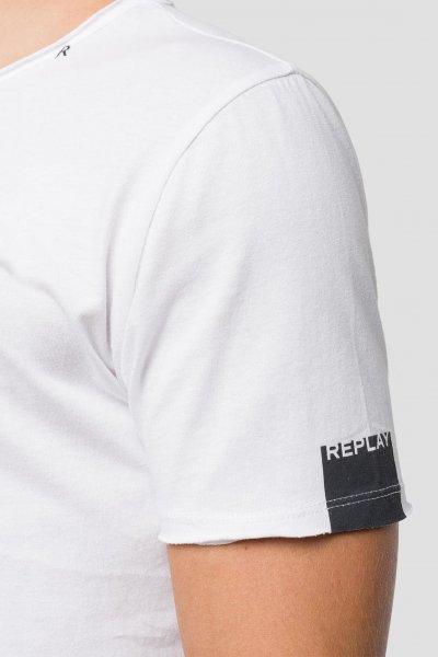 Camiseta REPLAY Básica Cuello Redondo Sin Rematar M3590 .000.2660