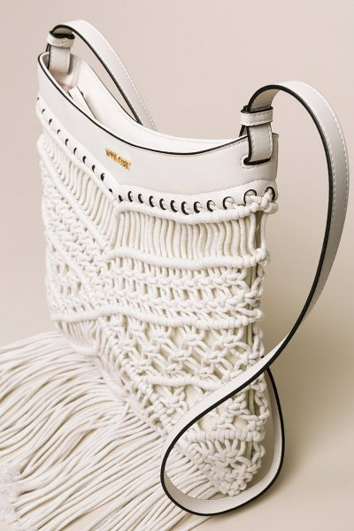 Bandolera TWINSET Crochet Con Flecos 201TO8131