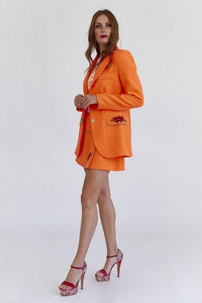Mini Falda MANGATA Naranja 2001-0420-091