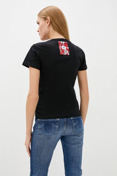 Camiseta PINKO Negra Fergus 1B14KTY5BD