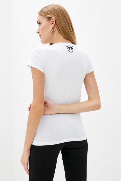 Camiseta PINKO Blanca Tigre 1B14J3W0Y1Z04
