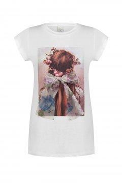 Camiseta RINASCIMENTO Print Lazo CFC0016726002