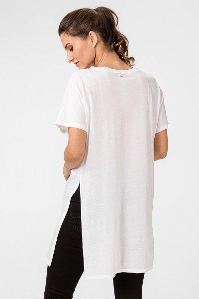 Maxi Camiseta TWINSET Mensaje Lentejuelas 201MT2300