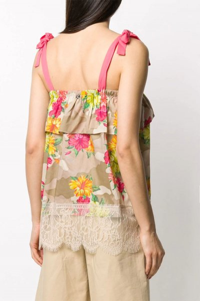 Top TWINSET Camuflaje Floral 201MT2383