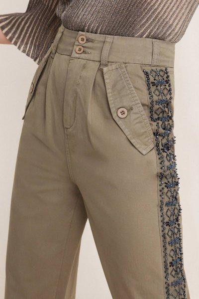 Pantalones TWINSET Cargo Bordado 201TT2321