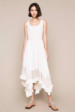 Vestido TWINSET Crepé de China y Seda 201TT2344