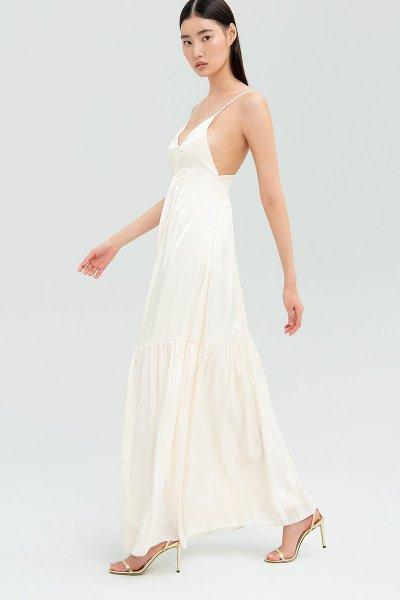 Vestido FRACOMINA Largo Fluido FR20SMGIOVANNA